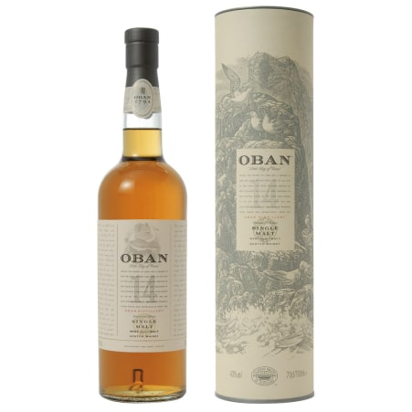 Oban Single Malt Whisky 43%