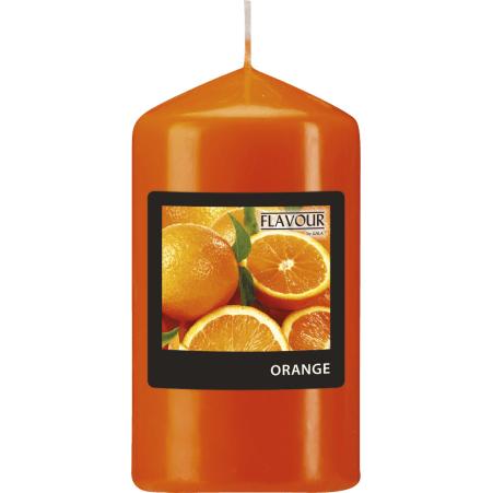 GALA Kerzen GmbH Duftkerze orange 65x 115 mm