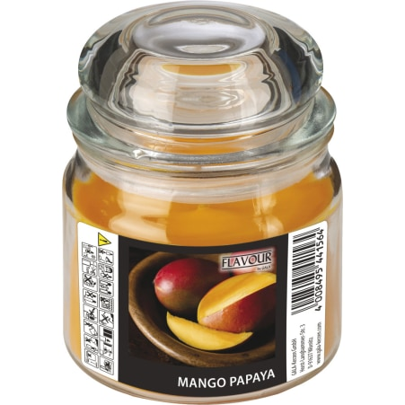 GALA Kerzen GmbH Duftkerze im Bonbonglas Mango-Papaya