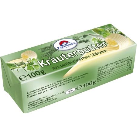 Kärntnermilch Kräuterbutter 65%