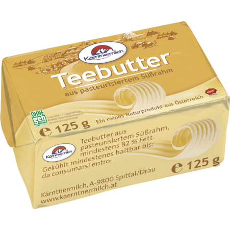 Kärntnermilch Teebutter 125 gr