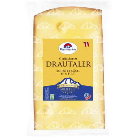 Kärntnermilch Drautaler geräuchert 45% 250 gr