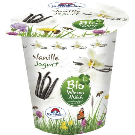 Kärntnermilch Bio Wiesenmilch Joghurt Vanille 400 gr