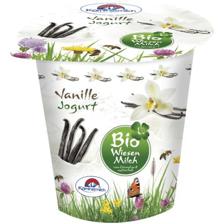 Kärntnermilch Bio Wiesenmilch Joghurt Vanille 150 gr