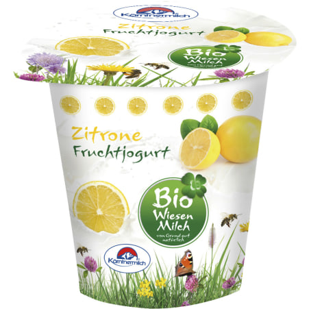 Kärntnermilch Bio Wiesenmilch Joghurt Zitrone