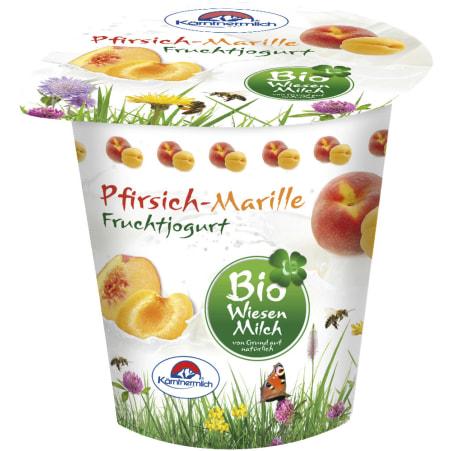 Kärntnermilch Bio Wiesenmilch Joghurt Pfirsich-Marille