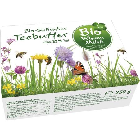 Kärntnermilch Bio Wiesenmilch Teebutter 250 gr