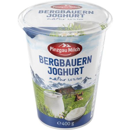 Pinzgau Milch Joghurt Natur 1% 400 gr