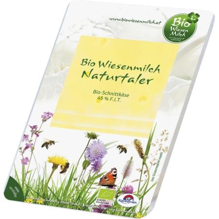 Kärntnermilch Bio Wiesenmilch Naturtaler Scheiben