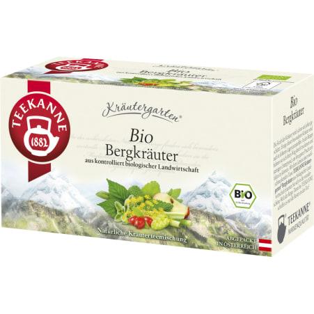 TEEKANNE Bio Kräutergarten Bergkräuter