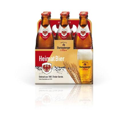 Starkenberger Bier Heimatbier Tray 6x 0,5 Liter Euro-Flasche