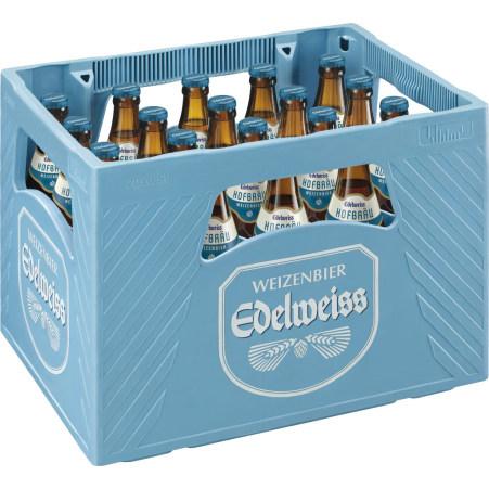 Edelweiss Hofbräu Kiste 20x 0,5 Liter
