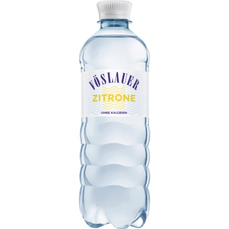 Vöslauer Mineralwasser prickelnd Zitrone 0,5 Liter