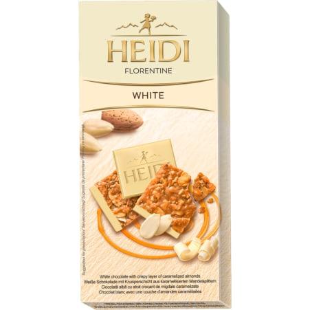 Heidi Schokolade Florentine White