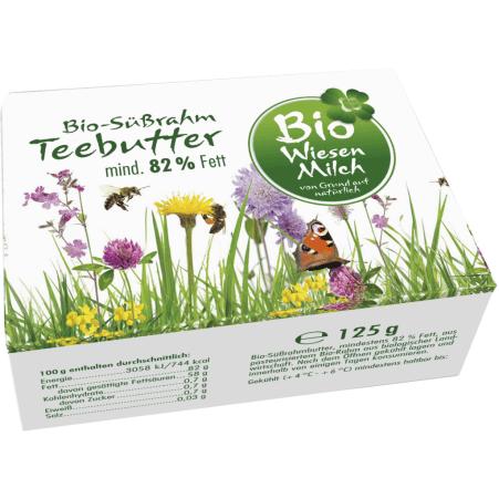 Kärntnermilch Bio Wiesenmilch Teebutter 125 gr