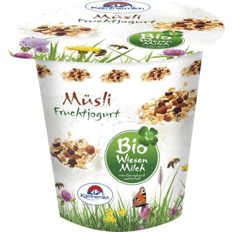 Kärntnermilch Bio Wiesenmilch Joghurt Müsli