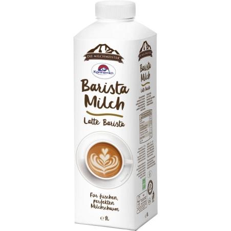 Kärntnermilch Die Milchmeister Barista Milch länger frisch 1,8%