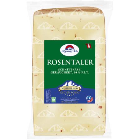 Kärntnermilch Rosentaler geräuchert mit Pfefferoni 50%
