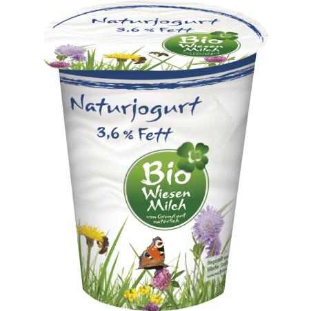 Kärntnermilch Bio Wiesenmilch Naturjoghurt 3,6%