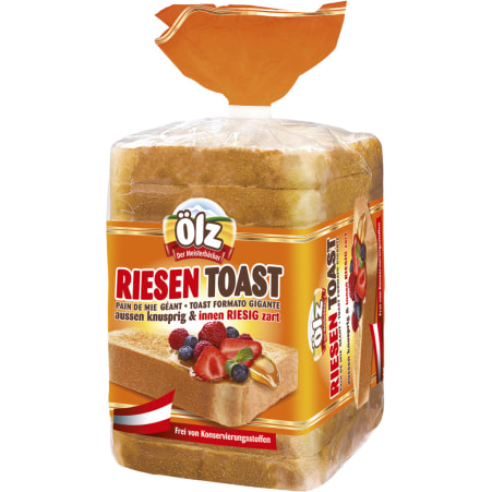 Rudolf Ölz Meisterbäcker GmbH & Co KG Riesen Toast