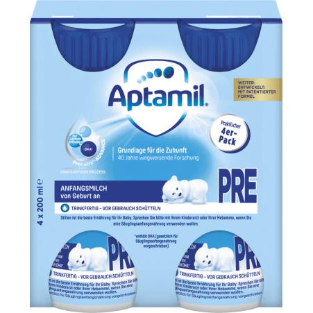 Aptamil Pre Anfangsmilch 4er-Packung
