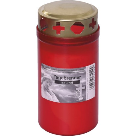 GALA Kerzen GmbH Tagebrenner Nr. 3 mit Deckel