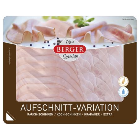 Berger Aufschnitt-Variation