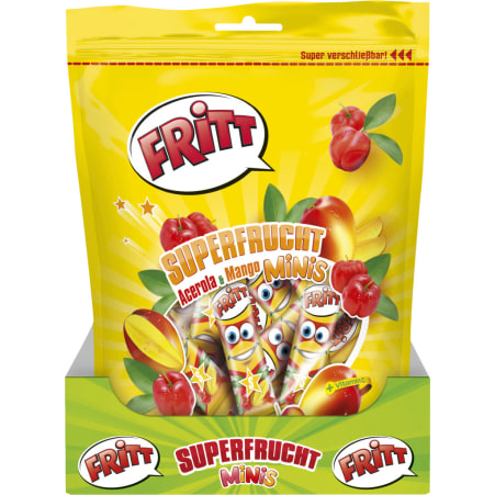 Fritt Superfrucht Beutel Goji-Granatapfel