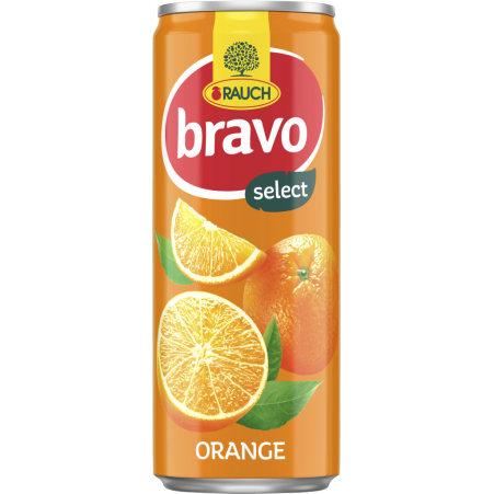 Rauch Bravo Orange 0,33 Liter Dose