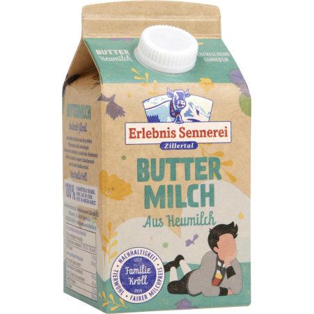 ErlebnisSennerei Zillertal Zillertaler Buttermilch 1%