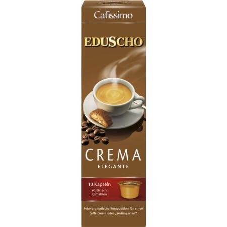 EDUSCHO Cafissimo Crema Elegante 10 Kapseln
