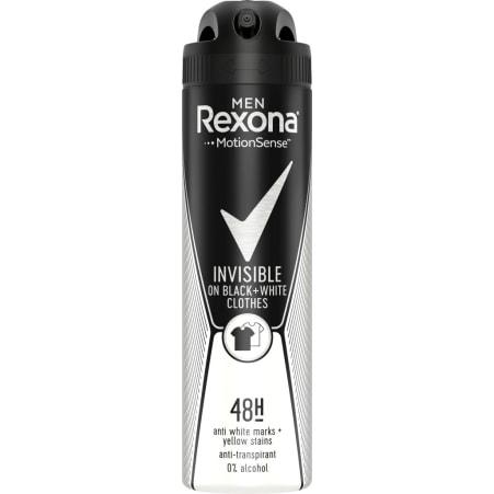Rexona Men Invisible Black & White Deo-Spray