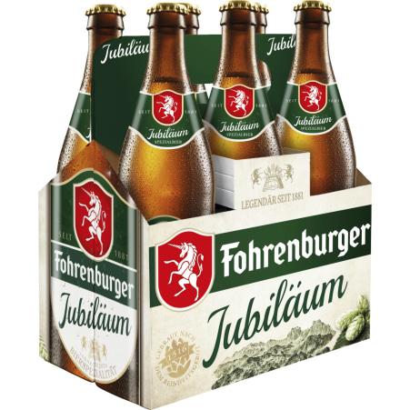 Fohrenburger Jubiläum Tray 6x 0,5 Liter