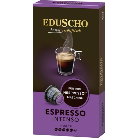 Eduscho Espresso Intenso 10 Kapseln