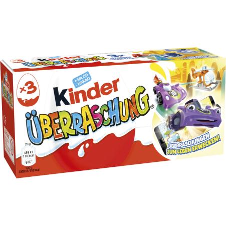 Kinder Kinder Überraschungseier 3er-Packung