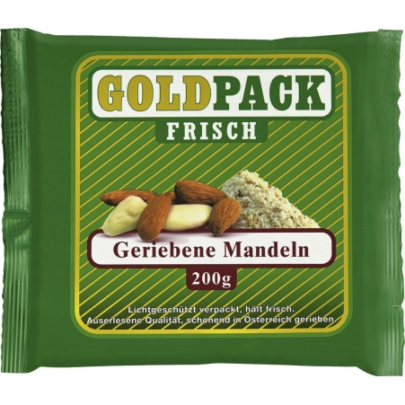 GOLDPACK FRISCH Mandeln gerieben
