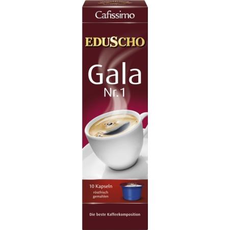 EDUSCHO Cafissimo Gala Nr. 1 10 Kapseln