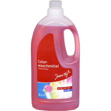 Jeden Tag Colorwaschmittel flüssig 40 Waschgänge