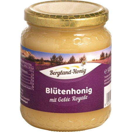Bergland-Honig Gelee Royale Blütenhonig