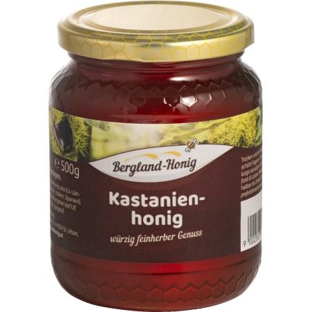 Bergland-Honig Kastanienhonig