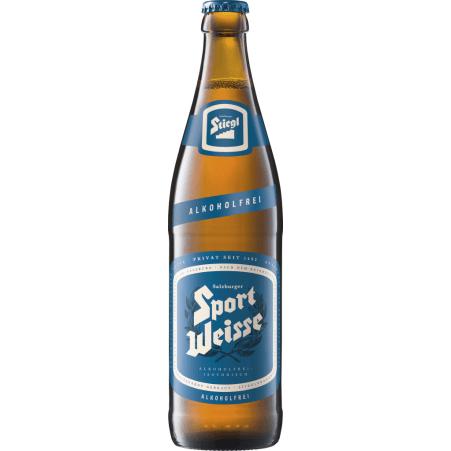 Stiegl Sport Weiße alkoholfrei 0,5 Liter Mehrweg-Flasche