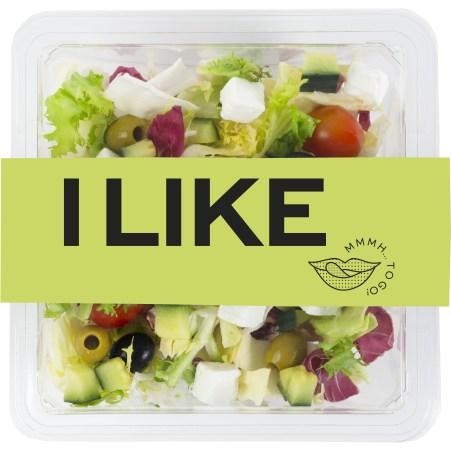 ILIKE Salat mit Griechischem Topping