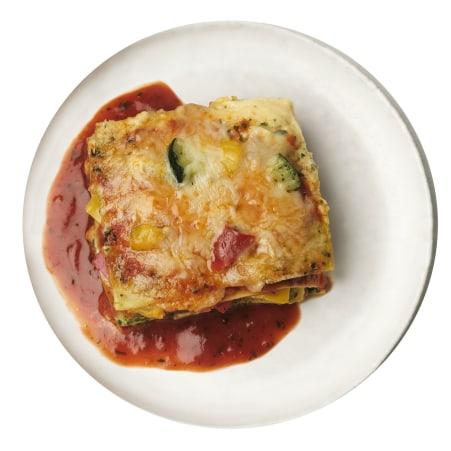 I LIKE Gemüselasagne mit Tomatensauce