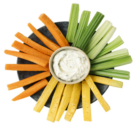 I LIKE Gemüsesticks mit Dip