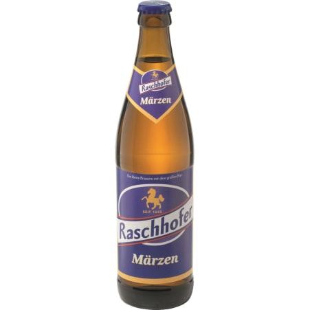 Raschhofer  Märzen Flasche 0,5 Liter Mehrweg-Flasche
