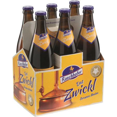 Raschhofer Zwickl Tray 6x 0,5 Liter Mehrweg-Flasche