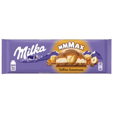 MILKA Schokolade Toffee Ganznuss