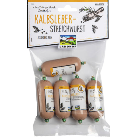 Landhof Kalbsleber-Streichwurst