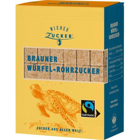 Wiener Zucker Demerara Brauner Würfelzucker Fairtrade