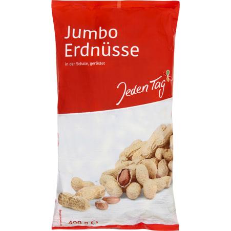 Jeden Tag Erdnüsse in Schale